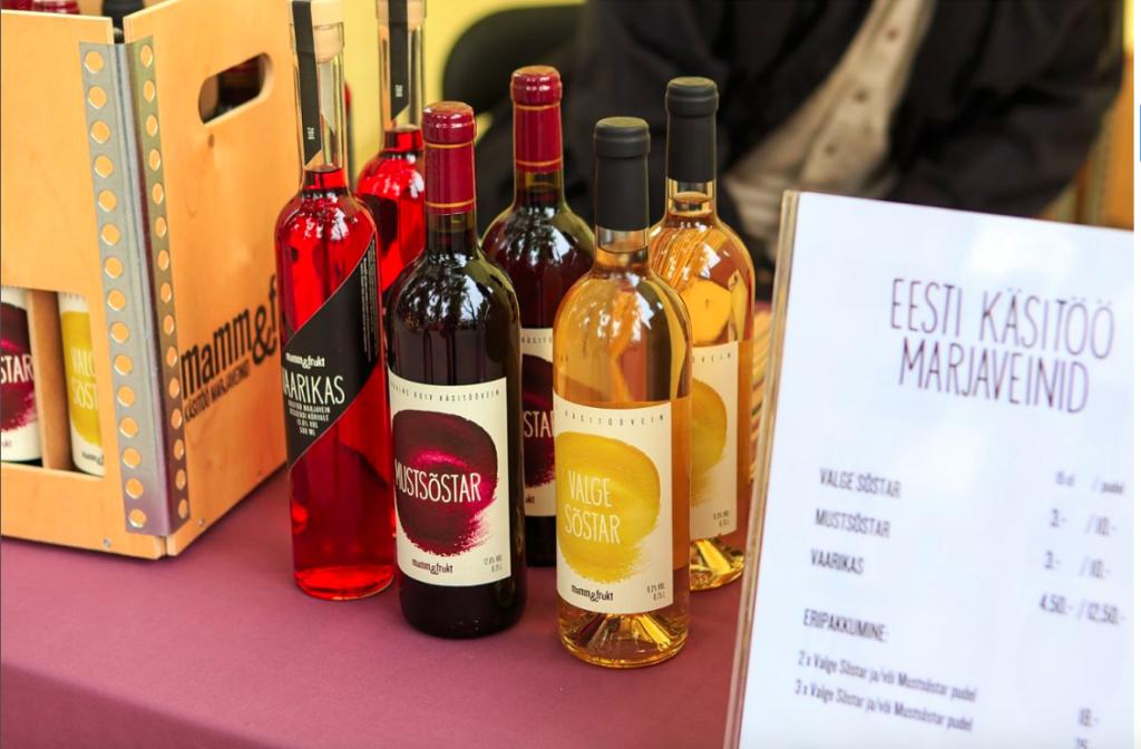 Mamm&Frukt Eesti vein marjavein käsitöövein