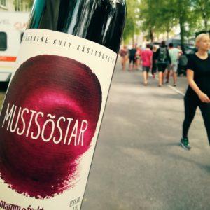 Mamma&Frukt Mustsõstravein Eesti vein kvaliteetvein kuiv punane vein
