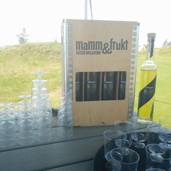 Mamm&Frukt käsitöövein Eesti vein ingverivein astlpajuga_restoran raimond_Hedon Spa_Tahkuranna Golf