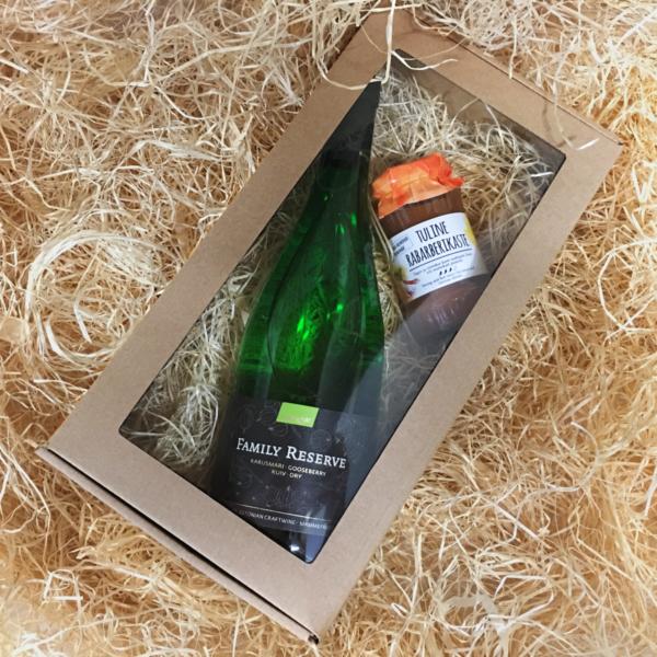 Mamm&Frukt Family Reserve Karusmari kinkepakk 2 eesti vein