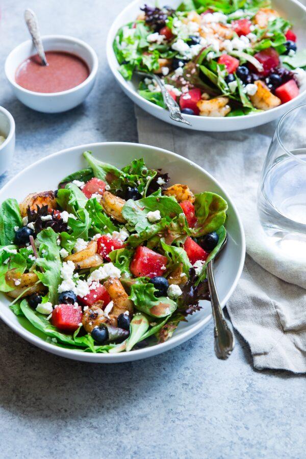 Mamm&Frukt buble rabarberi-vaarika vahukas või maasikas ebaküdooniaga ja kerged salatid